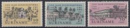 Suriname - 200 Jaar Zendingsfirma C. Kersten & Co - Postfris/MNH - NVPH 499-501 - Suriname ... - 1975
