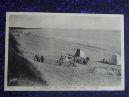 BARBATRE, ILE De NORMOUTIER, La Plage - Ile De Noirmoutier