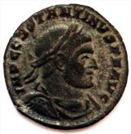 A50- SPLENDIDE Qualité ARGENTURE ORIGINE BILLON CONSTANTIN 1er Lauré, Drapé Et Cuirassé - ARLES - 2.8 Grs - 20.5 Mm - 7. The Christian Empire (307 AD To 363 AD)