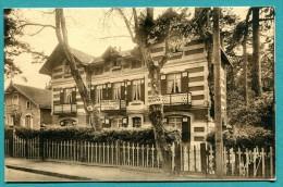 """33 - Arcachon  Hôtel-Pension  """"Les Erables """" (restaurant Commerces)  - écrite Non -  édit Yobled - - Arcachon"""