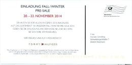 BRD Mannheim Infopost FRW 2014 Tommy Hilfiger - Textil