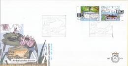E424 - Voor De Natuur(2000) - NVPH 1924-1925 - FDC