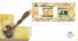 E425 - Blok 150 Jaar Postzegels In 2002(2000) - NVPH 1926 - FDC