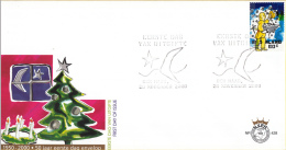 E428 - Decemberzegels(2000) - NVPH 1937 - FDC