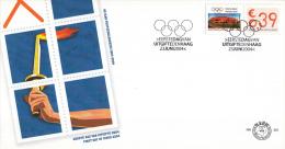 E501 - Bedrijfspostzegel(2004) - NVPH 2271 - FDC