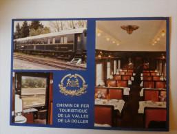 CHEMIN DE FER TOURISTIQUE DE LA VALLEE DE LA DOLLER MULTIVUES LIGNE CERNAY BURHAUPT SENTHEIM - Eisenbahnen