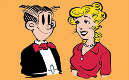 @@@ MAGNET - BLONDIE AND DAGWOOD - Publicitaires