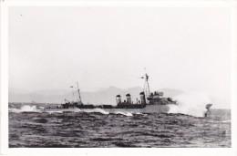 photo originale batiment militaire marine francaise Fortun�