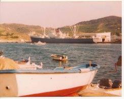 P61 - Navire � Collioures ? - photo ann�es 1970-80
