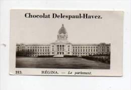 Image / Chromo - Chocolat Delespaul Havez - Régina, Le Parlement - N°313 - Chocolate