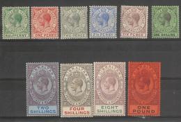 _Gibraltar - colonie Britanique _ 1912 - lot