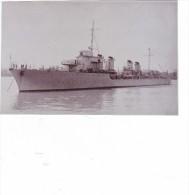 photo  batiment militaire marine francaise kersaint bordeaux 5/7/1934