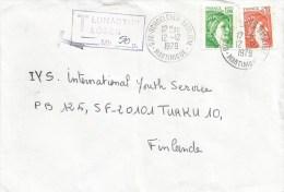 Martinique 1979 Schoelcher Bateliere Underfranked Taxed Cover - Martinique (1886-1947)