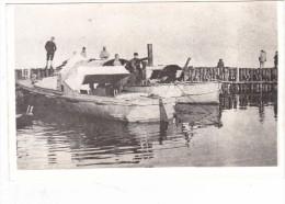 photo  batiment militaire marine francaise canonniere francaise Le Miroir sur lac albanie okrida 1918