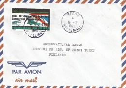 Mali 1993 Segou Concorde 225f Overprint Cover - Concorde