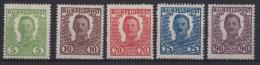 �sterreich-Ungarische Feldpost Mi. IV - VII, XIII */Falz
