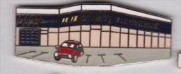 Superbe Pin´s En EGF , Auto Fiat Service - Fiat