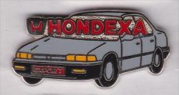 Superbe Pin´s En Zamac , Auto Honda , Hondexa Export - Honda