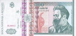 Romania 500 Lei 1992 Pick 101 UNC - Roumanie