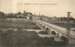 82489 - Decize (58) Pont Sur La Loire Et Vue Generale - Decize