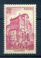 MONACO - 1939 - Timbre 169 -  Cathédrale - Neuf** - Monaco