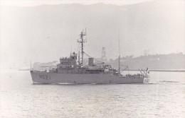 photo originale batiment militaire marine francaise M 621 origny a touloun 1967 signee
