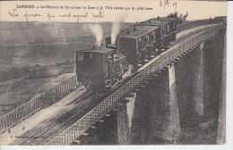 LANGRES - Chemin De Fer Reliant La Gare à La Ville   PRIX FIXE - Eisenbahnen
