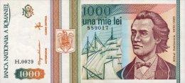 Romania 1000 Lei 1993 Pick 102 UNC - Romania
