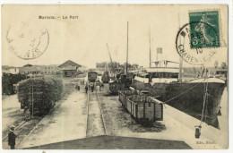 MARANS. - Le Port. Cliché Assez Rare - France