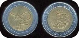 PEROU_ 2   NUEVOS SOLES_ANNEE 1995 _  LOT N° 8768 - Pérou