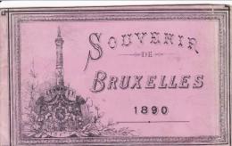 BRUXELLES - Souvenir De ....... ( 10 Vues ) - Panoramische Zichten, Meerdere Zichten