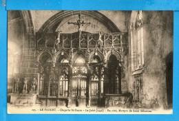 CP, 56, LE FAOUET, Chapelle St Fiacre Le Jubé - En Côté Martyre De Saint Sébastien, Ecrite - Le Faouet
