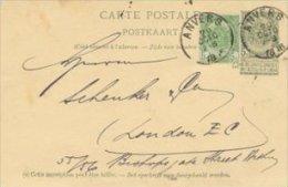 Belgium -  Uprated Postal Stationery.   S-1712 - Stamped Stationery