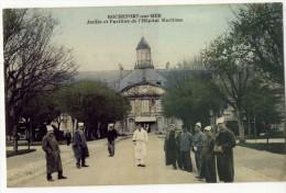 ROCHEFORT-sur- MER. - Jardin Et Pavillon De L'Hôpital Maritime - Rochefort