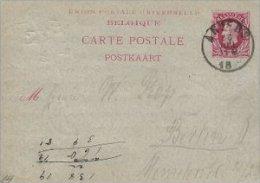 Belgium - Carte Postale - Postkaart.  S-1721 - Stamped Stationery