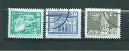 Allemagne  Timbres De 1974  N°1627  A  1629  Oblitérés - Gebruikt