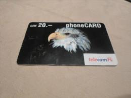 SWITZERLAND - nice prepaid card eagle date 12/2004
