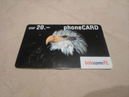 SWITZERLAND - nice prepaid card eagle date  02/2005