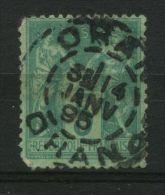 FRANCE  :    TRES  BELLE  OBLITERATION  ,  C A D   D ' ALGERIE  DU  14  JANVIER  1895  SUR  TYPE  SAGE  ,  A VOIR .