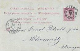 Belgium - Carte Postale  -  Postal Stationery.    S-1725 - Stamped Stationery