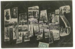 MARANS. - Multivues  Lettres Alphabet. Carte Rare - France