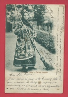 Russie/ Russian - Types Russes - Balayeuse - 1903 ( Voir Verso ) - Russie