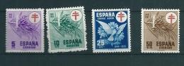 Spain 1950 EDIFIL 1084-7 MNH - 1931-50 Nuevos & Fijasellos