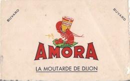 BUVARD LA MOUTARDE DE DIJON AMORA - Moutardes