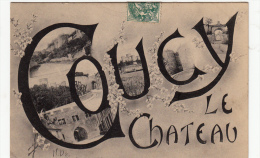 02-coucy Le Chateau Multivues - France