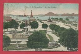 Brésil / Brasil - Rio De Janeiro - Praça 15 De Novembro - 1908 ( Voir Verso ) - Brésil