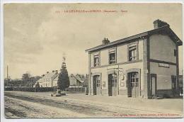 La CHAPELLE Au RIBOUL : Gare - 434 Pavy-Legeard - France