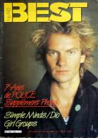 BEST N°190 (mai 1984) - Music