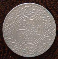 (J) MOROCCO: Silver 5 Dirhams 1904 XF+ (AH1322Pa) (1866)   GREAT SALE!!!!! - Marruecos