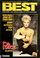 BEST N°174 (janvier 1983) Sans Poster - Music